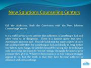 Alcoholism Treatment Programs at New Solutions Counseling Centers