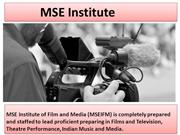MSEIFM Provide the Excellence in Filmmaking