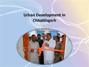 Urban Development in Chhattisgarh