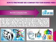 How to Find the Best SEO Company for Your Business Needs