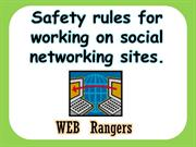 Safety rules for working on social networking sites