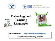 Technology and  language teaching