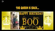 The Queen Is Back birthday video