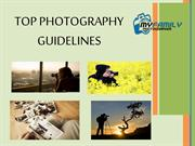 Top Photography Guidelines
