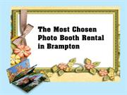 The Most Chosen Photo Booth Rental in Brampton