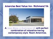 Abvi Hotel Inn Richmond Virginia Hotel