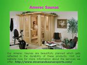 Custom Sauna Room