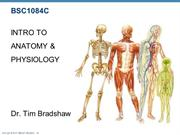 Week 1 Intro to Anatomy Lecture