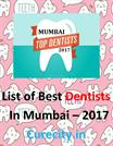 List of Best Dentists of Mumbai - Curecity