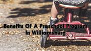 Benefits Of A Preschool Program In Williamsburg