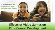 What are the health benefits of video games?