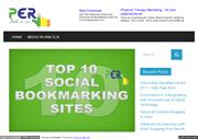 Free Indian Bookmarking Site List 2017 -PerClik