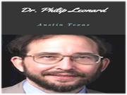 Dr. Philip Leonard: Having a disease is not something someone wishes