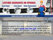 Excellent Services From A Reliable Garage Door Company New York