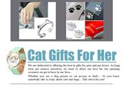 Cat themed gifts
