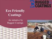 Eco Friendly Coatings For Your Surfaces