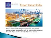 Get  the Correct Export import Shipment data from Seair