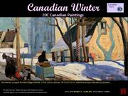 Canadian Winter - 20C Canadian Paintings