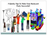 Rent A Bounce House And Give Your Kids Endless Fun