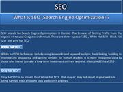 What is the best steps for SEO?, SEO1 ppt(1)
