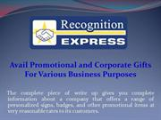 Avail Promotional and Corporate Gifts For Various Business Purposes