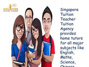 Singapore Tuition Teacher - Tuition Agency