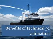 Benefits of technical 3d animation