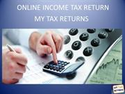 Online Income Tax Return - My Tax Returns
