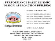 Performance Based Seismic Design