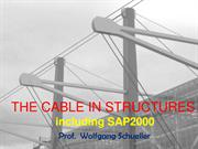 The Cable in Building Structures including SAP2000 (rev