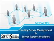 Leading Server Management & Server Support Providers