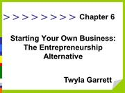 Twyla Garrett | A Strong Start For Consulting Business