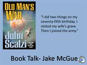 Old Man's War book talk