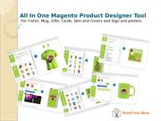 All in one Magento Product Design Tool for T-shirt, Gift, Card, Sign,