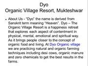 Dyo Organic Resorts