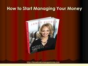 Manage your Money with This Book : Money Secrets 101