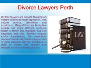 Divorce Lawyers Perth