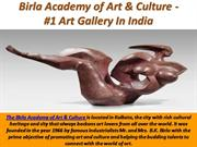 Birla Academy of Art & Culture - #1 Art Gallery In India