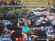 Funny Travel Quotes And Sayings by Nick Miller - QuotesOnTravel.com