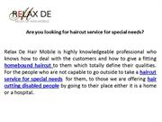 Don't waste your time call to Relax de hair Mobile