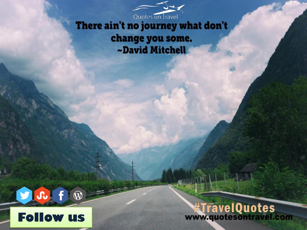 Funny Quotes On Travel By David Mitchell Quotesontravel