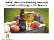 The US Cider Market benefiting from Apple Production