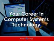 Your Career In Computer Systems Technology