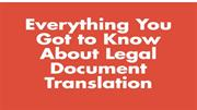 Certified Translation Services