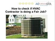 HVAC Contractors Mississauga