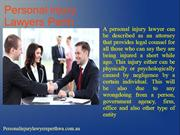 Personal injury Lawyers Perth