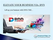 Lift up your business with DNN-CMS