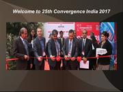 Welcome to 25th Convergence India 2017