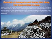Overview on Annapurna and Everest Base Camp Trek Opportunities Nepal