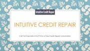 Intuitive Credit Repair